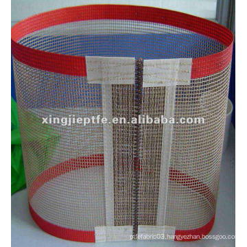 PTFE coated open-mesh fabrics